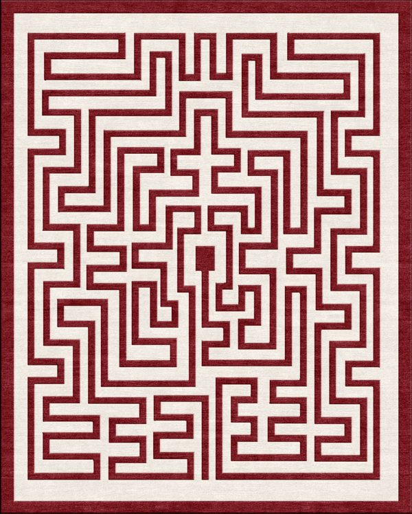 Maze-Crimson