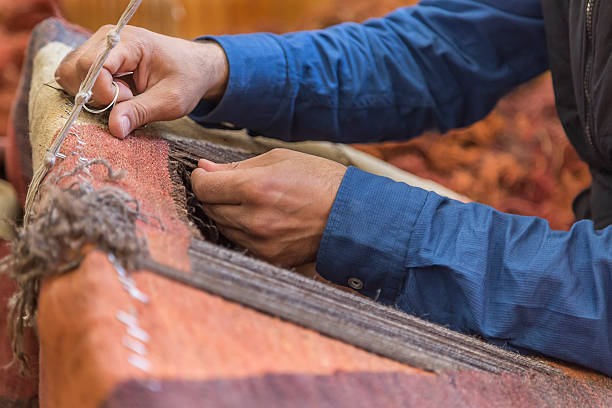 HOW STUNNINGLY BEAUTIFUL ORIENTAL CARPETS AND RUGS ARE CREATED